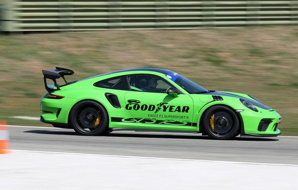 Fiesta de pe Ascari: am condus Alpine A110, Porsche 911 GT3 RS și Ferrari 488 GTB la testul noilor anvelope Goodyear F1 Asymmetric 5 și SuperSport - Poza 9