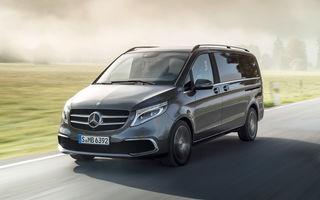 Mercedes-Benz a dat startul producției de serie pentru Clasa V facelift: monovolumul este asamblat la uzina din Vitoria, Spania