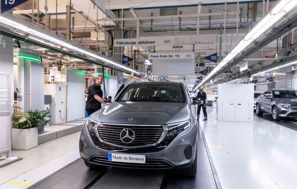 Mercedes-Benz anunță startul producției lui EQC: SUV-ul electric este asamblat la uzina din Bremen - Poza 4