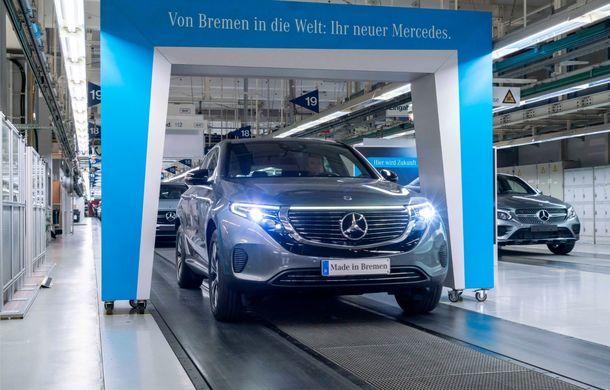 Mercedes-Benz anunță startul producției lui EQC: SUV-ul electric este asamblat la uzina din Bremen - Poza 2