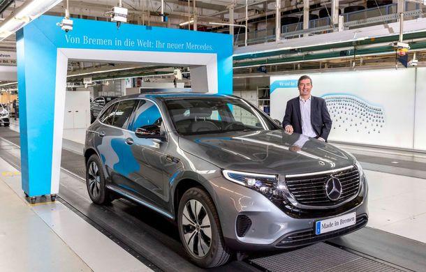 Mercedes-Benz anunță startul producției lui EQC: SUV-ul electric este asamblat la uzina din Bremen - Poza 5