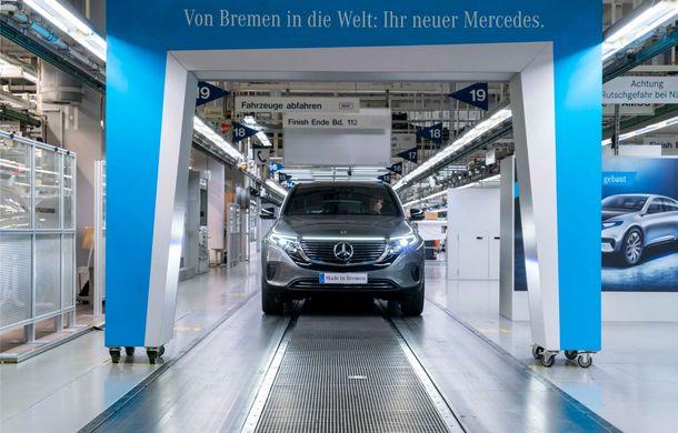 Mercedes-Benz anunță startul producției lui EQC: SUV-ul electric este asamblat la uzina din Bremen - Poza 3