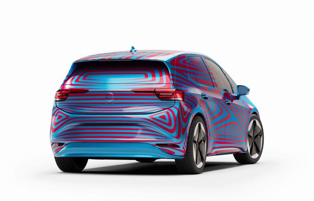 """""""Golf-ul electricelor"""" e aici. VW deschide pre-comenzile pentru hatchback-ul electric ID.3: autonomie între 330 și 550 de km și avans de 1.000 de euro pentru versiunea de lansare - Poza 4"""