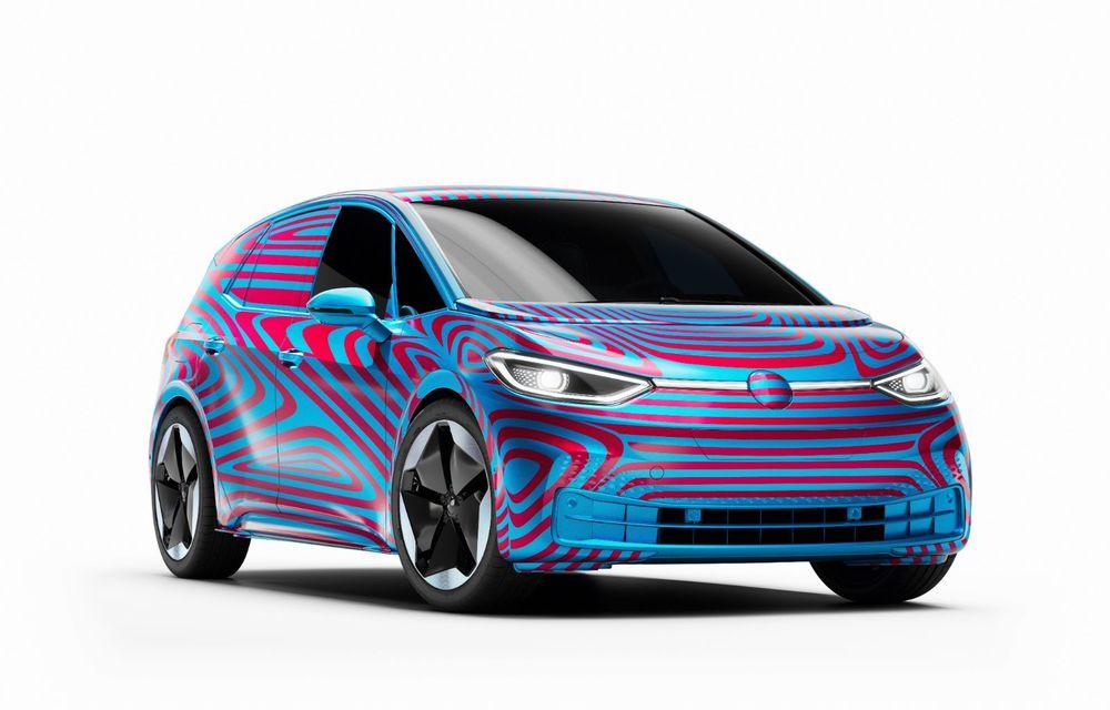 """""""Golf-ul electricelor"""" e aici. VW deschide pre-comenzile pentru hatchback-ul electric ID.3: autonomie între 330 și 550 de km și avans de 1.000 de euro pentru versiunea de lansare - Poza 3"""