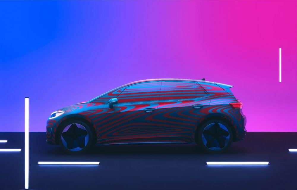 """""""Golf-ul electricelor"""" e aici. VW deschide pre-comenzile pentru hatchback-ul electric ID.3: autonomie între 330 și 550 de km și avans de 1.000 de euro pentru versiunea de lansare - Poza 2"""