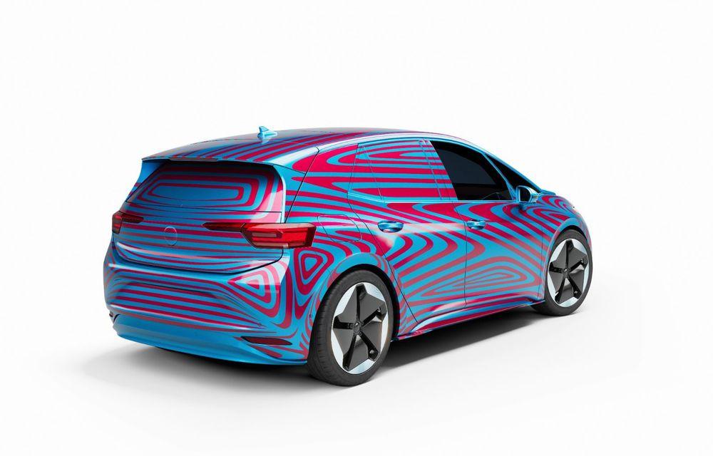 """""""Golf-ul electricelor"""" e aici. VW deschide pre-comenzile pentru hatchback-ul electric ID.3: autonomie între 330 și 550 de km și avans de 1.000 de euro pentru versiunea de lansare - Poza 6"""