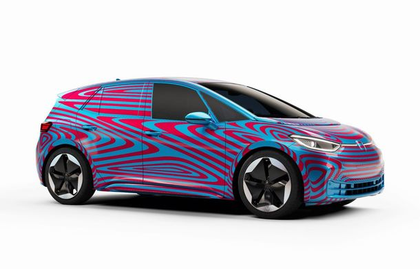 """""""Golf-ul electricelor"""" e aici. VW deschide pre-comenzile pentru hatchback-ul electric ID.3: autonomie între 330 și 550 de km și avans de 1.000 de euro pentru versiunea de lansare - Poza 1"""