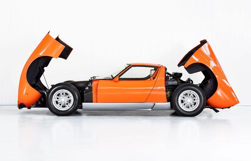 Vedetă cu acte în regulă: Lamborghini a identificat exemplarul Miura folosit în pelicula The Italian Job din 1969 - Poza 3