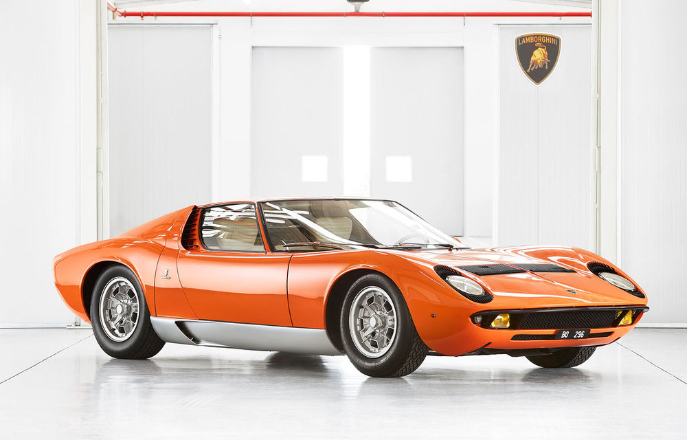Vedetă cu acte în regulă: Lamborghini a identificat exemplarul Miura folosit în pelicula The Italian Job din 1969 - Poza 1