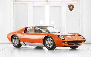 Vedetă cu acte în regulă: Lamborghini a identificat exemplarul Miura folosit în pelicula The Italian Job din 1969