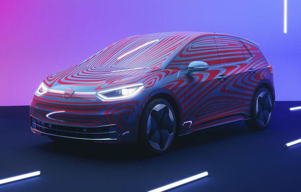 Efectul Volkswagen ID în România: germanii au alocat 450 de unități pentru hatchback-ul electric, echivalentul vânzărilor de mașini electrice ale tuturor mărcilor în 8 luni din 2018 - Poza 1