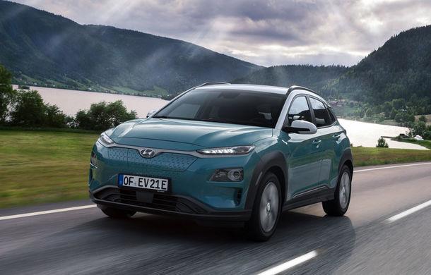 Hyundai introduce îmbunatățiri pentru Kona Electric: ecran de 10.25 inch și încărcare mai rapidă la curent alternativ - Poza 1