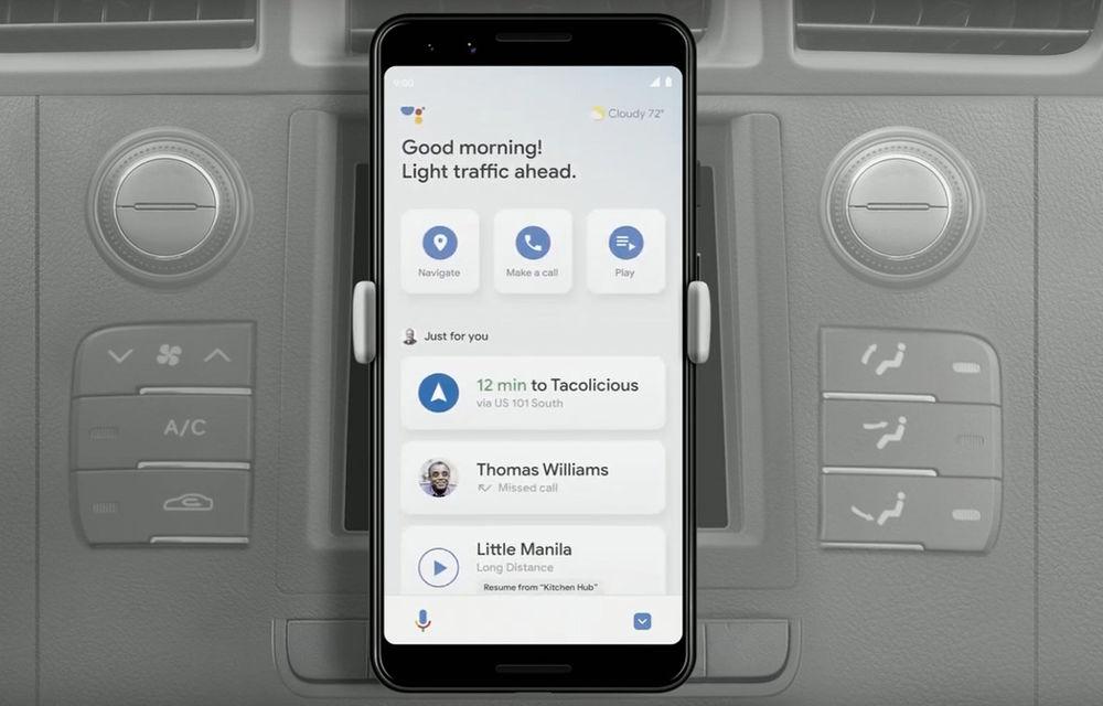 Google Assistant va primi un mod de utilizare pentru condus: interfață personalizată și integrare cu Waze - Poza 1