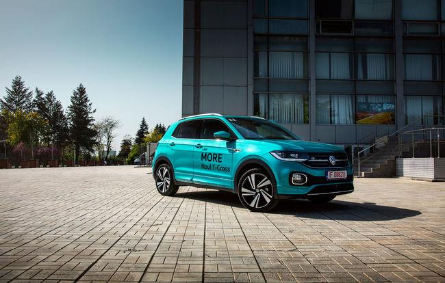 Test drive Volkswagen T-Cross
