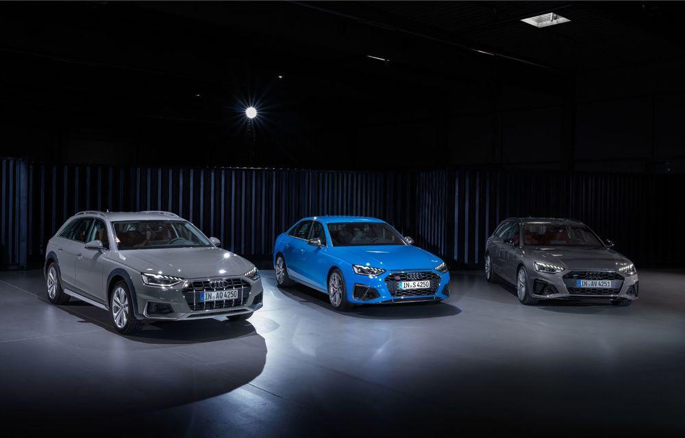 Îmbunătățiri pentru Audi A4: mici modificări de design și motorizări mild-hybrid - Poza 32