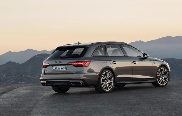 Îmbunătățiri pentru Audi A4: mici modificări de design și motorizări mild-hybrid - Poza 25