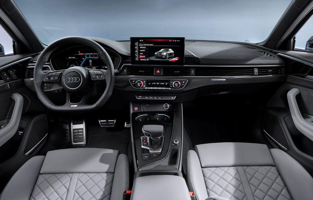 Îmbunătățiri pentru Audi A4: mici modificări de design și motorizări mild-hybrid - Poza 39