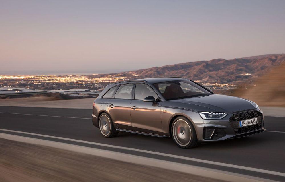 Îmbunătățiri pentru Audi A4: mici modificări de design și motorizări mild-hybrid - Poza 26
