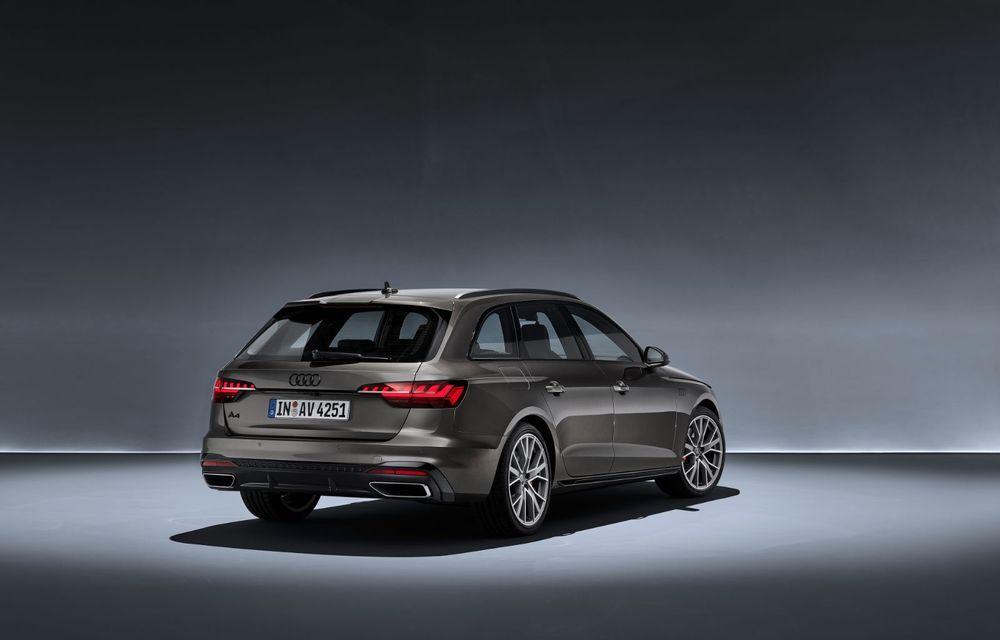 Îmbunătățiri pentru Audi A4: mici modificări de design și motorizări mild-hybrid - Poza 30