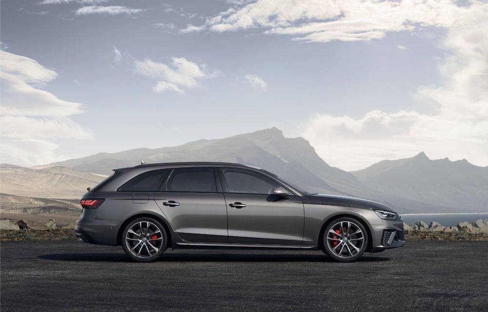 Îmbunătățiri pentru Audi A4: mici modificări de design și motorizări mild-hybrid - Poza 14