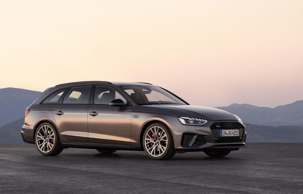 Îmbunătățiri pentru Audi A4: mici modificări de design și motorizări mild-hybrid - Poza 22