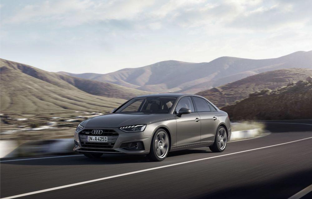 Îmbunătățiri pentru Audi A4: mici modificări de design și motorizări mild-hybrid - Poza 4