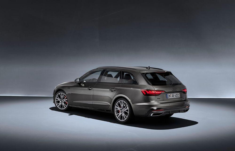 Îmbunătățiri pentru Audi A4: mici modificări de design și motorizări mild-hybrid - Poza 29