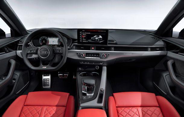 Îmbunătățiri pentru Audi A4: mici modificări de design și motorizări mild-hybrid - Poza 40