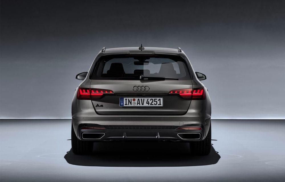 Îmbunătățiri pentru Audi A4: mici modificări de design și motorizări mild-hybrid - Poza 31