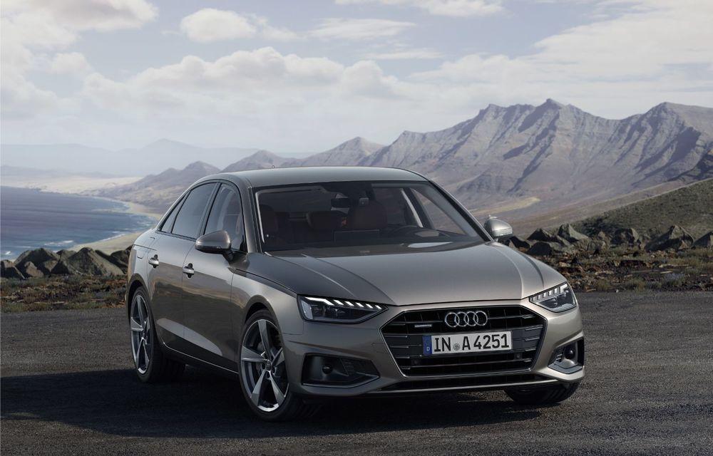 Îmbunătățiri pentru Audi A4: mici modificări de design și motorizări mild-hybrid - Poza 5