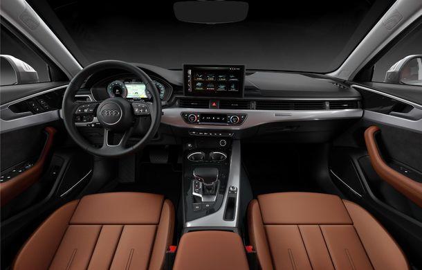 Îmbunătățiri pentru Audi A4: mici modificări de design și motorizări mild-hybrid - Poza 33