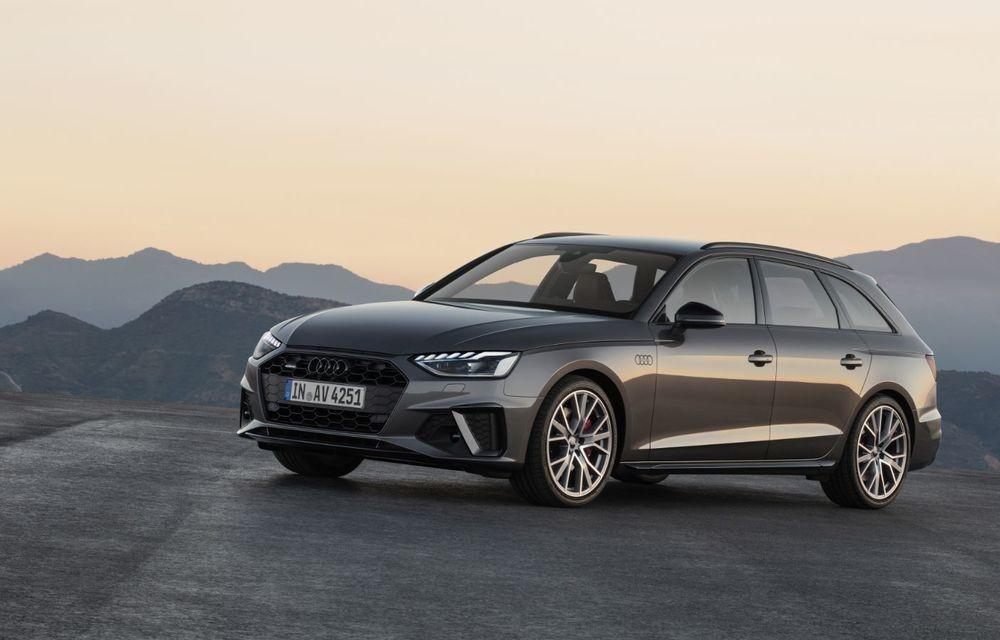 Îmbunătățiri pentru Audi A4: mici modificări de design și motorizări mild-hybrid - Poza 24