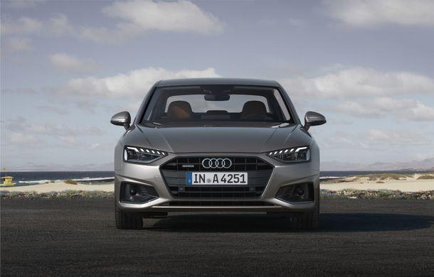 Îmbunătățiri pentru Audi A4: mici modificări de design și motorizări mild-hybrid - Poza 2