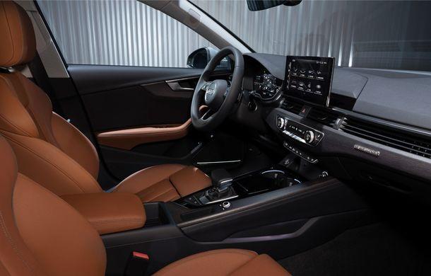 Îmbunătățiri pentru Audi A4: mici modificări de design și motorizări mild-hybrid - Poza 35