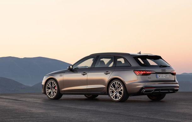 Îmbunătățiri pentru Audi A4: mici modificări de design și motorizări mild-hybrid - Poza 23