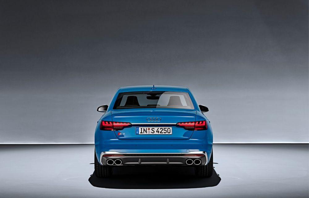 Îmbunătățiri pentru Audi A4: mici modificări de design și motorizări mild-hybrid - Poza 21