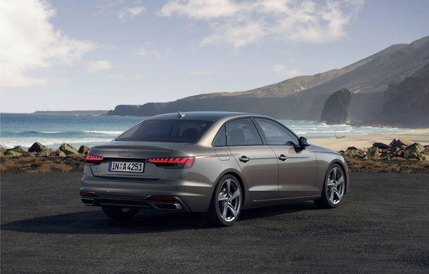 Îmbunătățiri pentru Audi A4: mici modificări de design și motorizări mild-hybrid - Poza 7