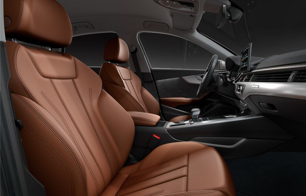 Îmbunătățiri pentru Audi A4: mici modificări de design și motorizări mild-hybrid - Poza 34
