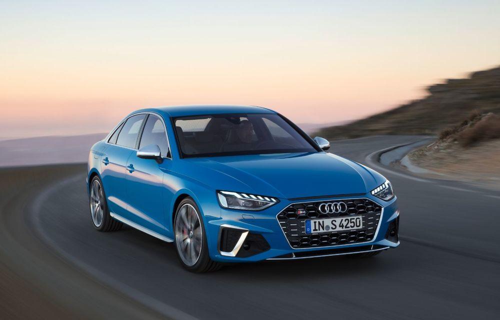 Îmbunătățiri pentru Audi A4: mici modificări de design și motorizări mild-hybrid - Poza 18