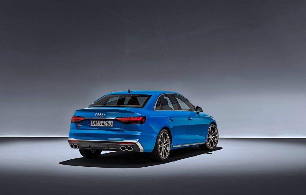 Îmbunătățiri pentru Audi A4: mici modificări de design și motorizări mild-hybrid - Poza 20