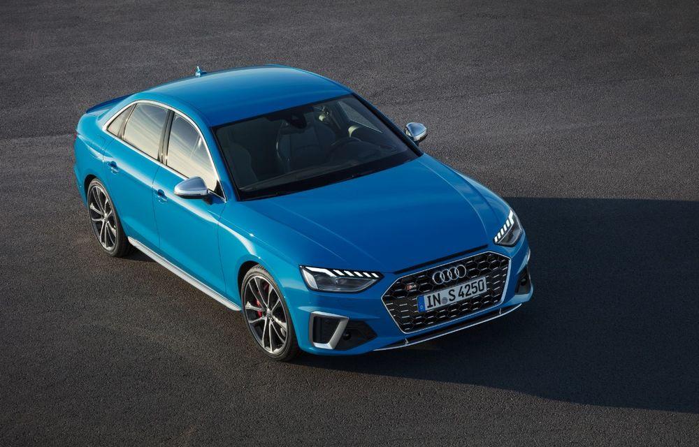 Îmbunătățiri pentru Audi A4: mici modificări de design și motorizări mild-hybrid - Poza 19