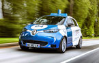 Renault lansează un experiment pentru un sistem de transport cu vehicule autonome: trei unități Zoe și un autobuz lângă Paris