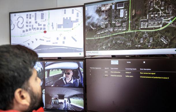 Renault lansează un experiment pentru un sistem de transport cu vehicule autonome: trei unități Zoe și un autobuz lângă Paris - Poza 12