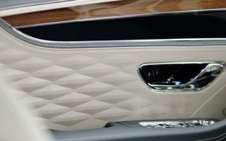 Primele imagini oficiale cu interiorul noului Bentley Flying Spur: lansarea va avea loc în 2019