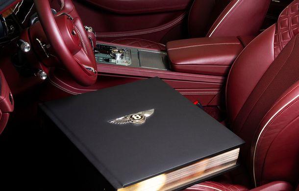 Bentley lansează o carte cu ocazia centenarului mărcii: cea mai scumpă versiune costă aproape 230.000 de euro și include diamante - Poza 2