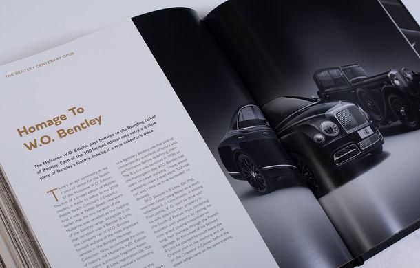Bentley lansează o carte cu ocazia centenarului mărcii: cea mai scumpă versiune costă aproape 230.000 de euro și include diamante - Poza 7
