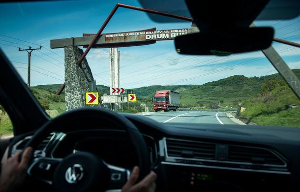 Provocare de autonomie: cu Volkswagen Tiguan 2.0 TDI 4Motion pe ruta București - Cluj-Napoca și retur cu un singur plin de carburant - Poza 18