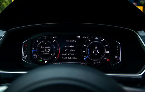 Provocare de autonomie: cu Volkswagen Tiguan 2.0 TDI 4Motion pe ruta București - Cluj-Napoca și retur cu un singur plin de carburant - Poza 48