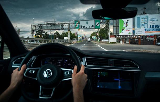 Provocare de autonomie: cu Volkswagen Tiguan 2.0 TDI 4Motion pe ruta București - Cluj-Napoca și retur cu un singur plin de carburant - Poza 41