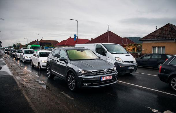 Provocare de autonomie: cu Volkswagen Tiguan 2.0 TDI 4Motion pe ruta București - Cluj-Napoca și retur cu un singur plin de carburant - Poza 28